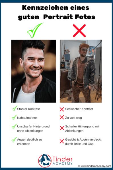 Das perfekte Tinder Profilbild für mehr Matches