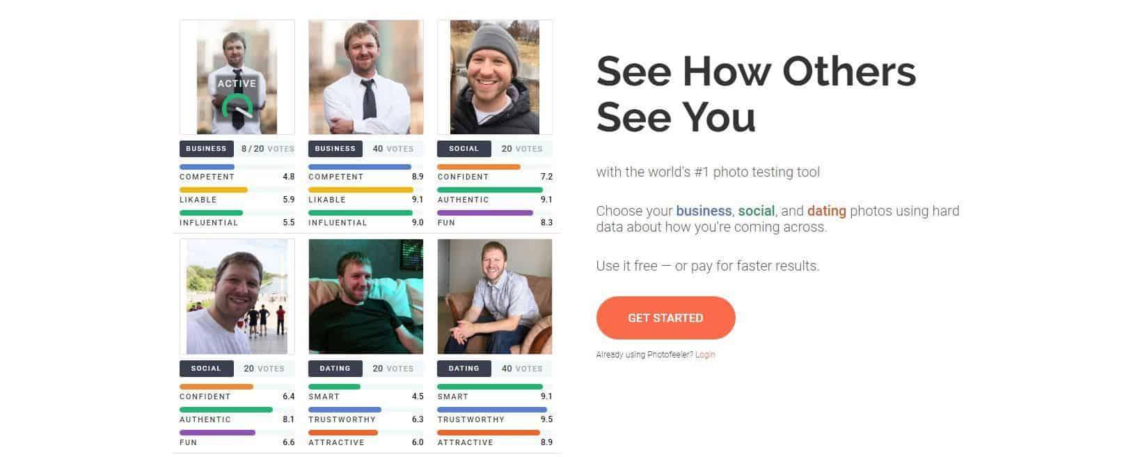 tinder profilfoto mann online dating photofeeler