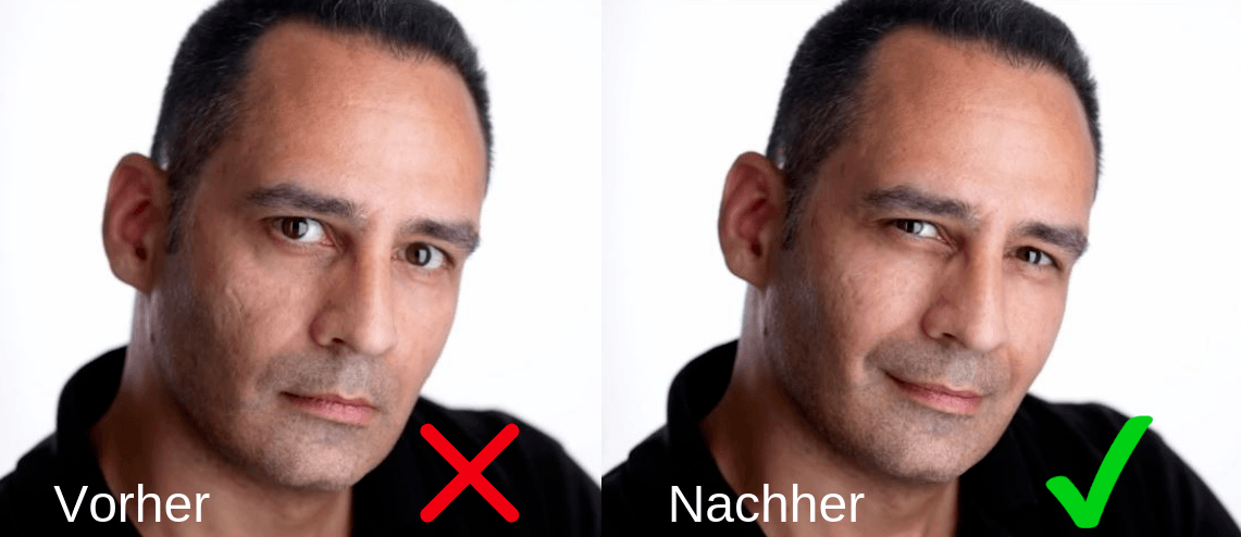 bessere tinderbilder machen squinch trick attraktiver aussehen 2