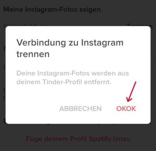 Instagram von tinder trennen app tinder 2