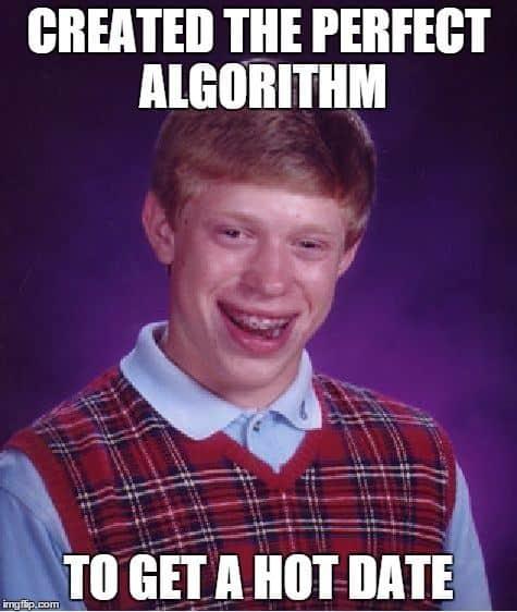 algorithmus hot date meme