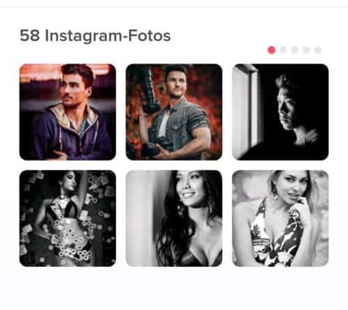 tinder mit instagram verbinden anzeige in app