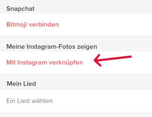 tinder mit instagram verbinden app 3