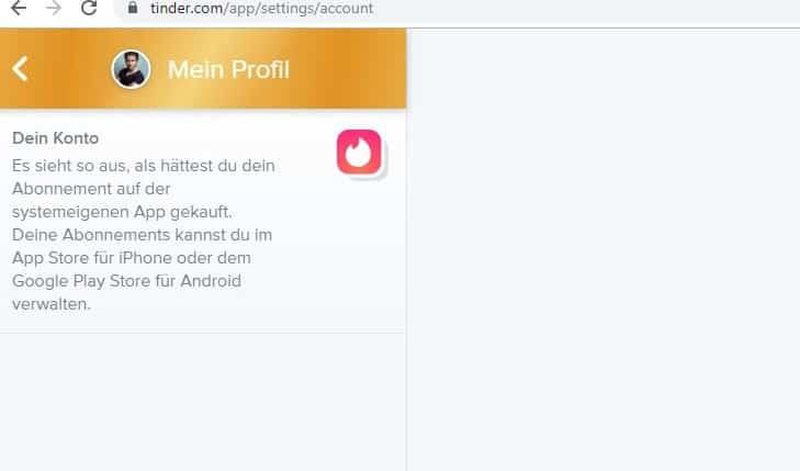 Android tinder abo kündigen Tinder premium