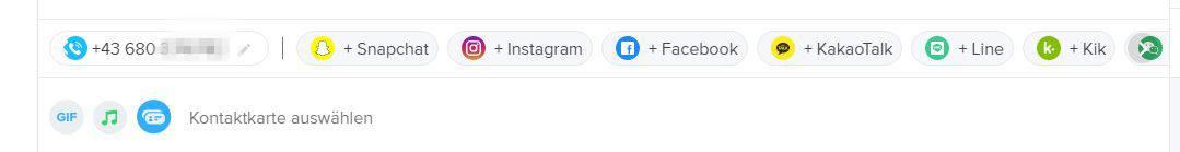 tinder am pc chatten kontaktkarte
