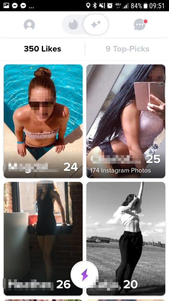 tinder gold likes sehen
