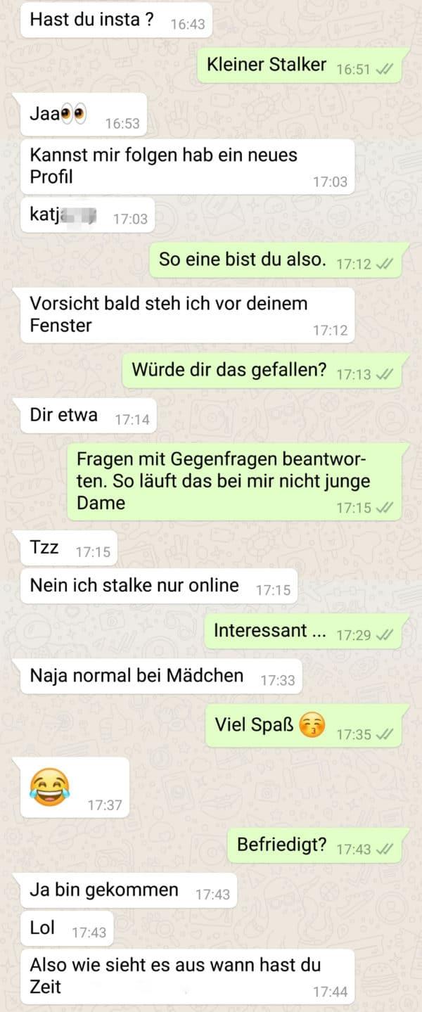mit whatsapp flirten