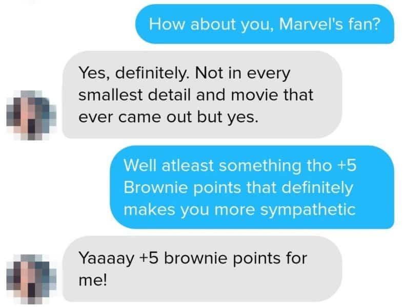Beispiel für Chat Technik Punkte verteilen