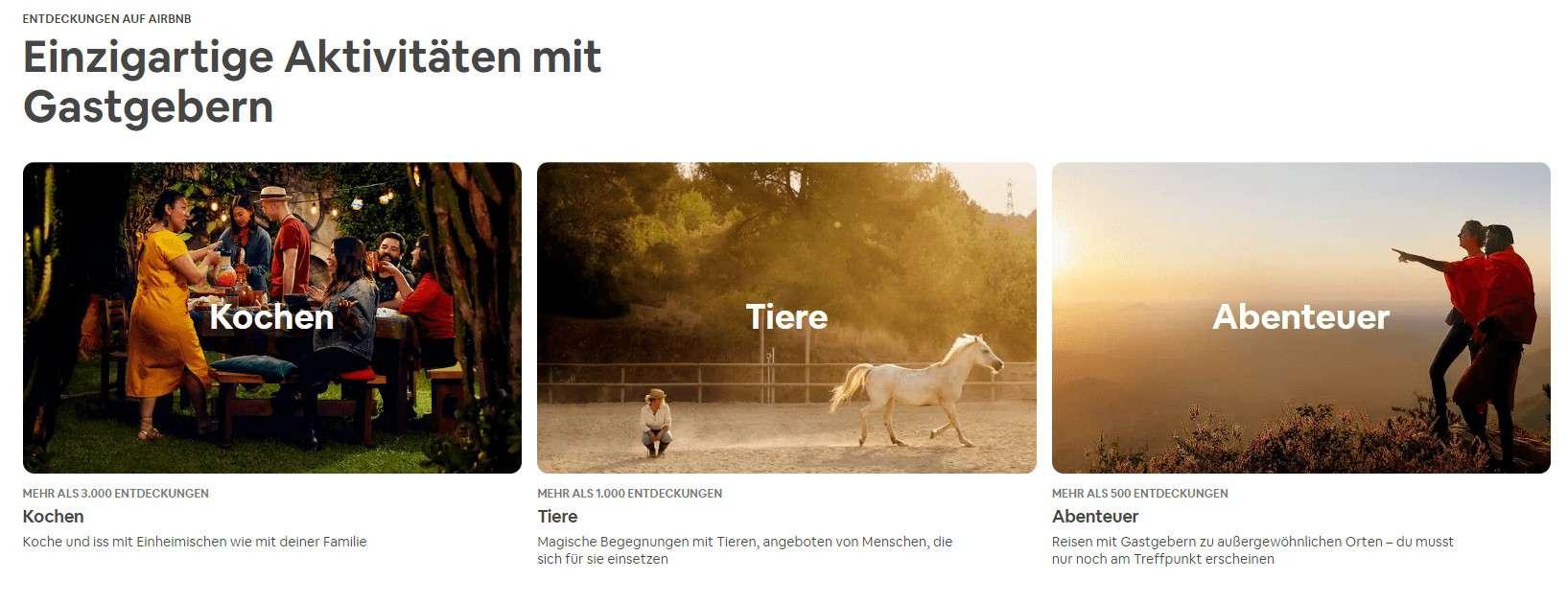 Geheimtipps Airbnb Experiences für coole Tinderfotos