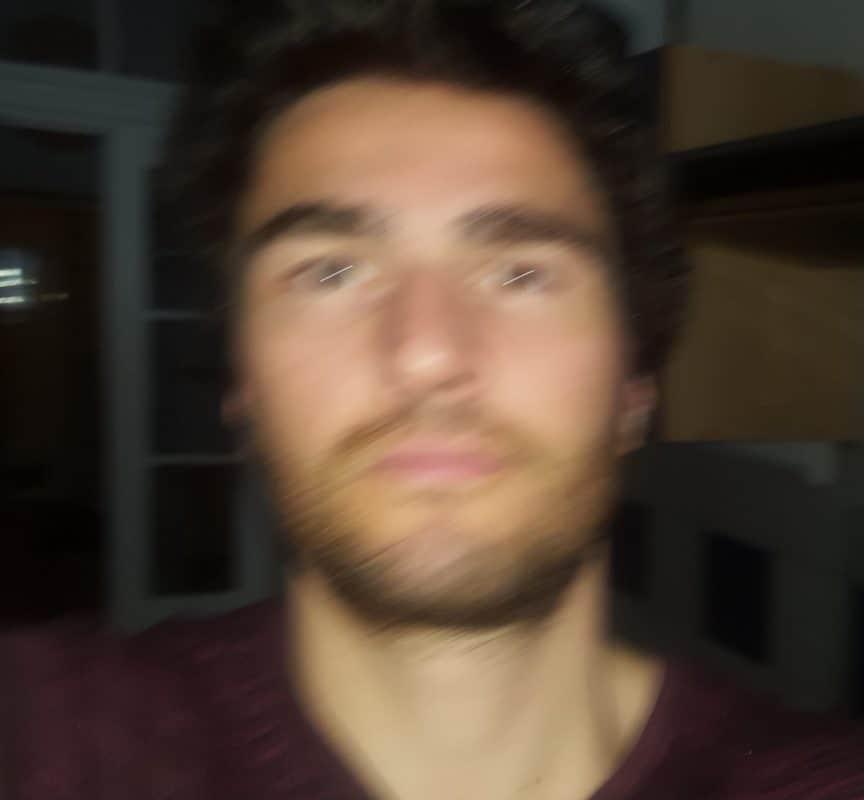 Beispiel für ein Tinderfoto mit schlechter Qualität