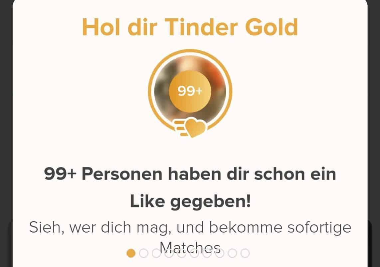 Tinder Gold kaufen um Likes zu sehen oder auch gratis möglich?